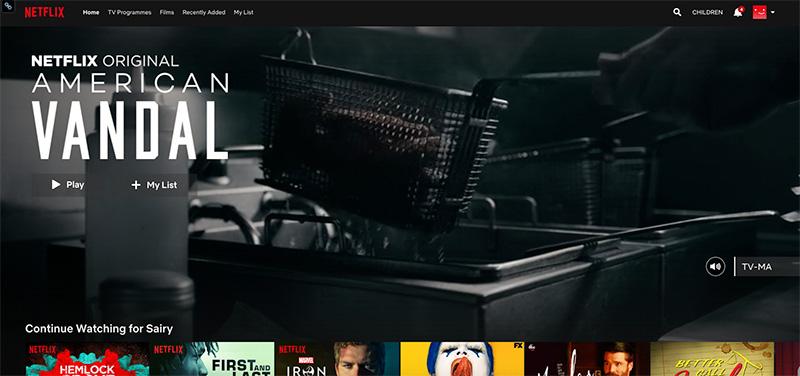 Unblock Netflix original with vpn