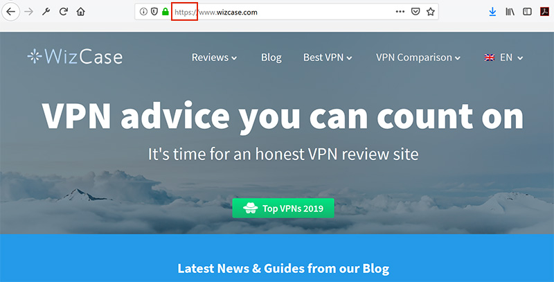 WizCase https and vpn