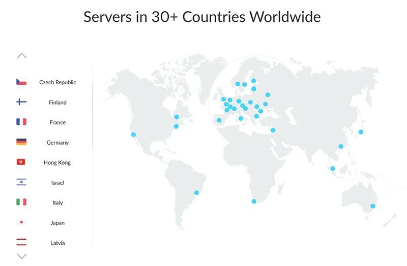 ZenMate servers