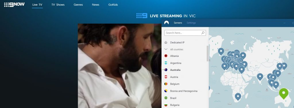 Stream the Oscars on 9now with NordVPN