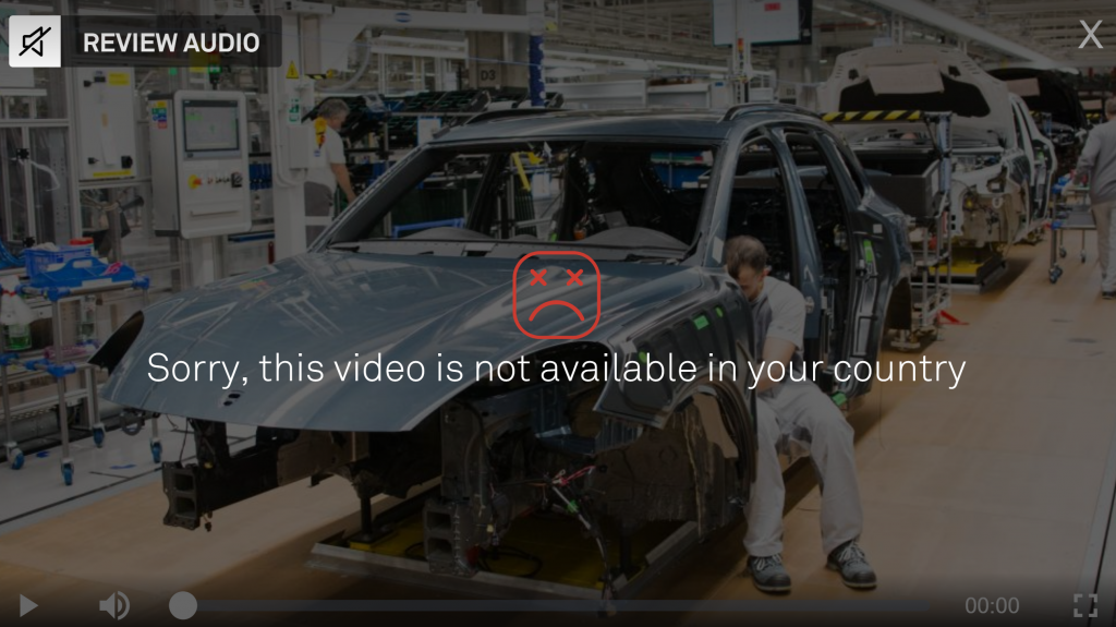 DMAX Italy error message