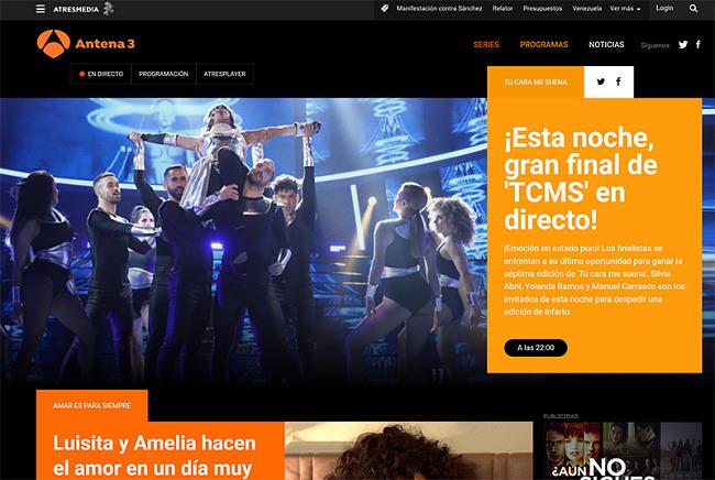 Antena 3 watch outside Spain vpn