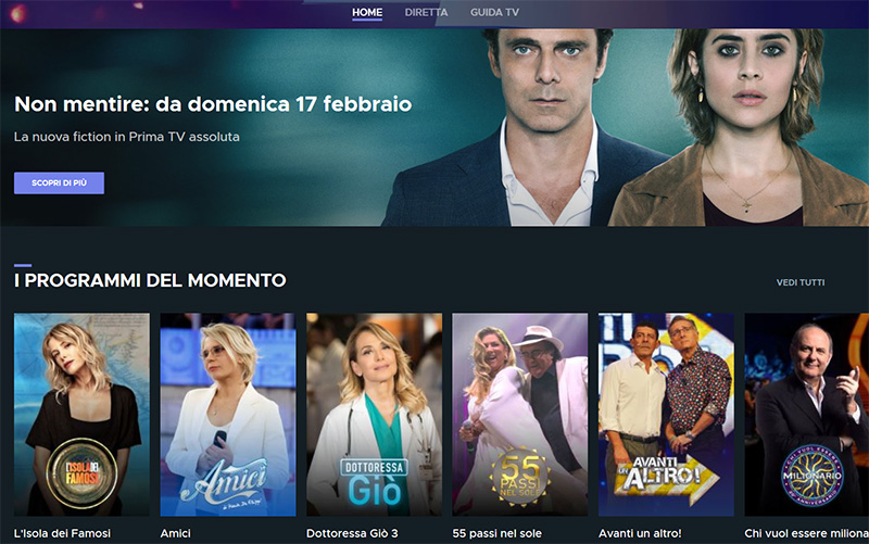 Canale 5 stream online vpn
