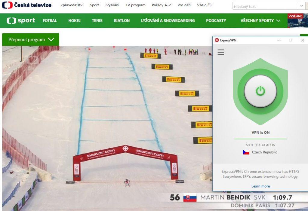ČT Sport for Free outside the Czech Republic