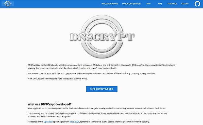 DNSCrypt info