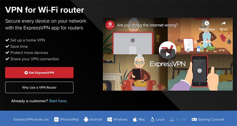 Expressvpn router setup