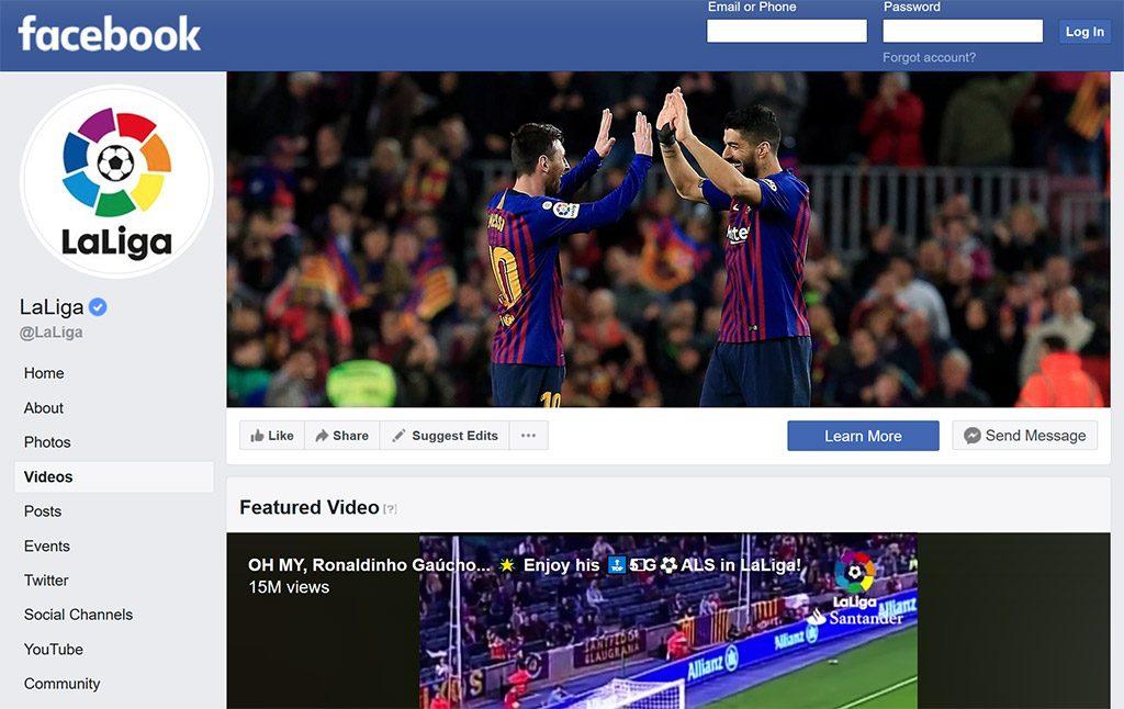 Facebook La Liga