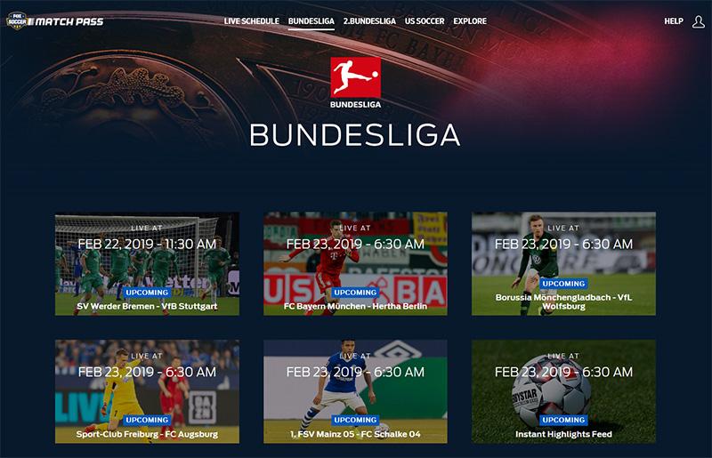 Fox Soccer Match Pass Bundesliga vpn
