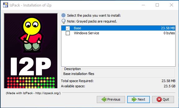 I2p network packs install