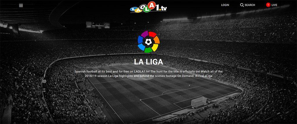 Laola1 TV La Liga