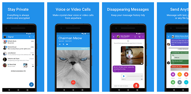 Signal Private Messenger Android