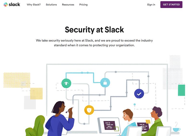 Slack access in Russia vpn solution