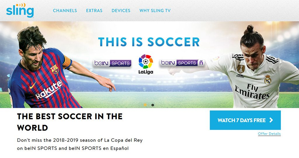 Sling TV La Liga