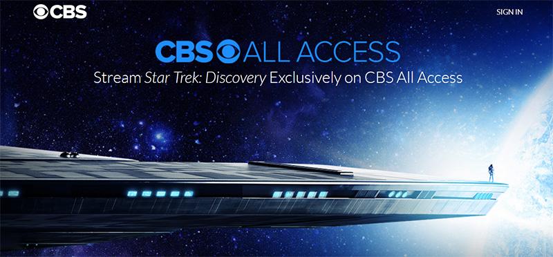 Startrek Discovery stream online vpn