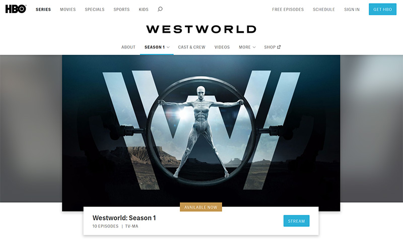 Westworld stream online vpn