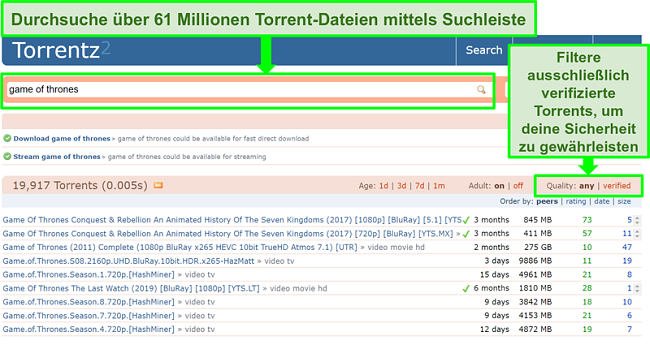 Torrent thrones deutsch game of How to