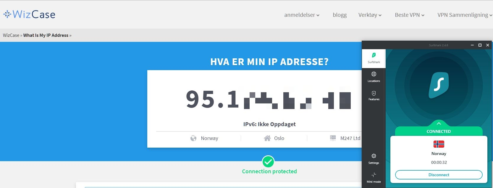 Wizcase-verktøy: Hva er IP-en?