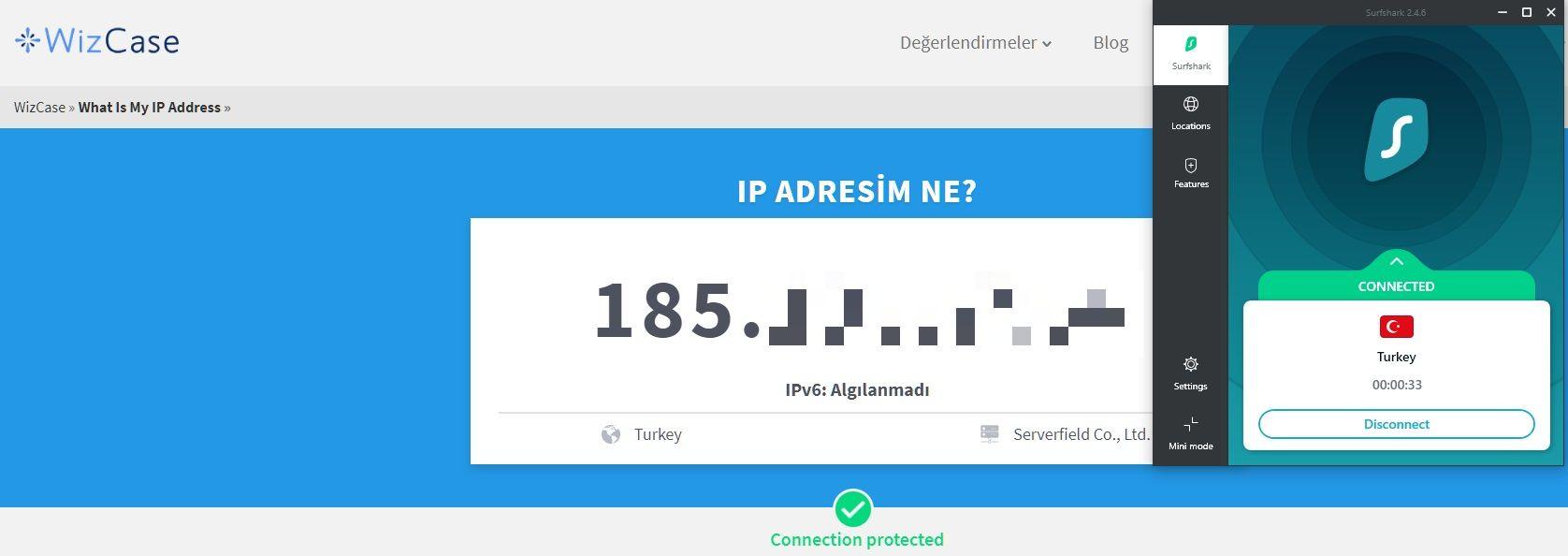 Wizcase IP adres aracım nedir