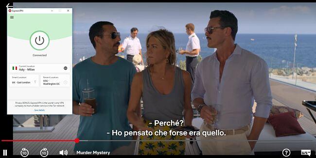 Netflix Italia ExpressVPN