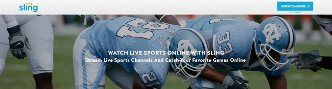 Stream Sling Sports from anywhere