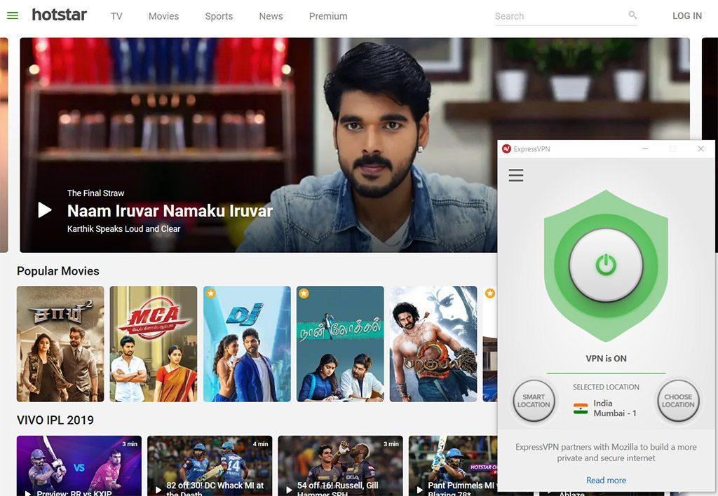 Hotstar tv watch online vpn