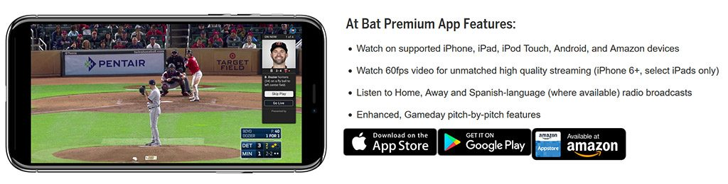 MLB At Bat app