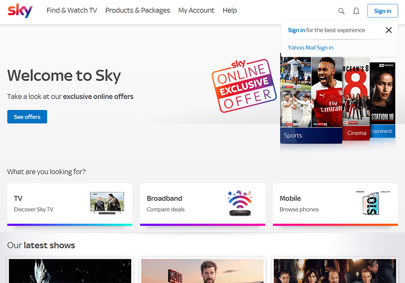 Watch Sky TV in the Netherlands