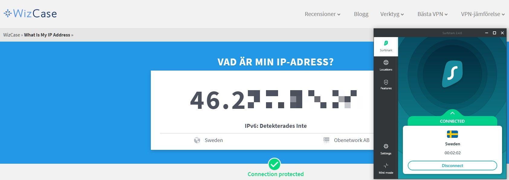 Wizcase-verktyg: Vad är min IP?