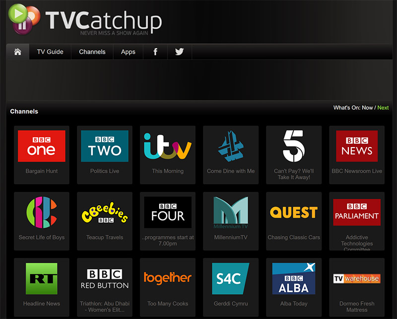 TVCatchup free_movies online
