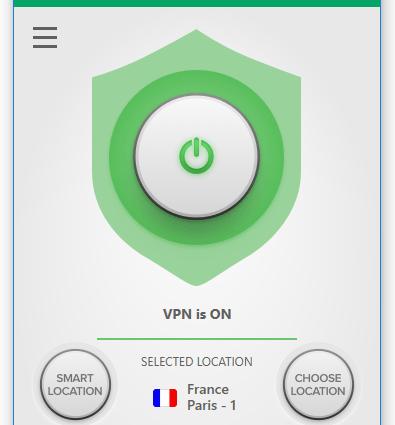 VPN server located in France