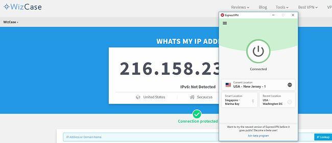 Get a US IP Address with ExpressVPN