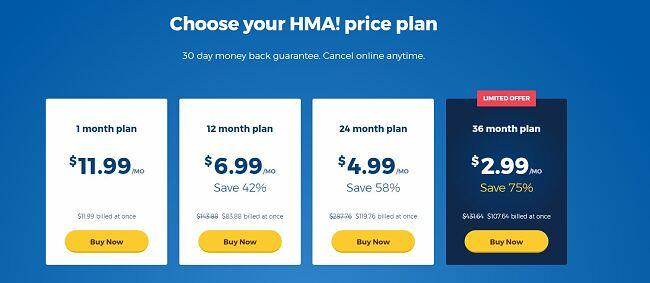 Hidemyass coupon 75 percent deal