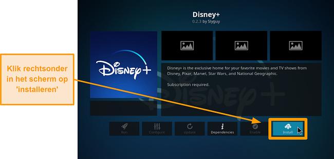 screenshot hoe kodi add-on van derden te installeren stap 22 klik op installeren