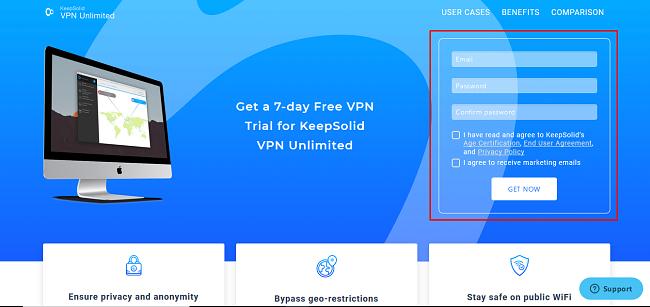 VPN Unlimited Free Trial