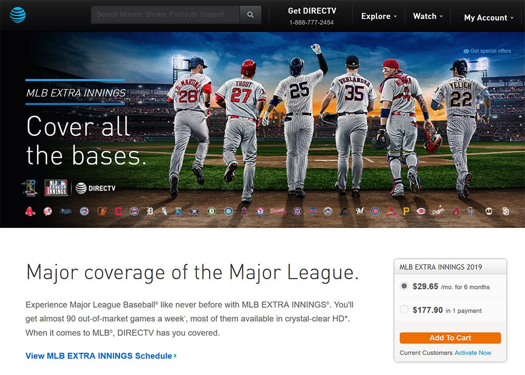 MLB on DirecTV