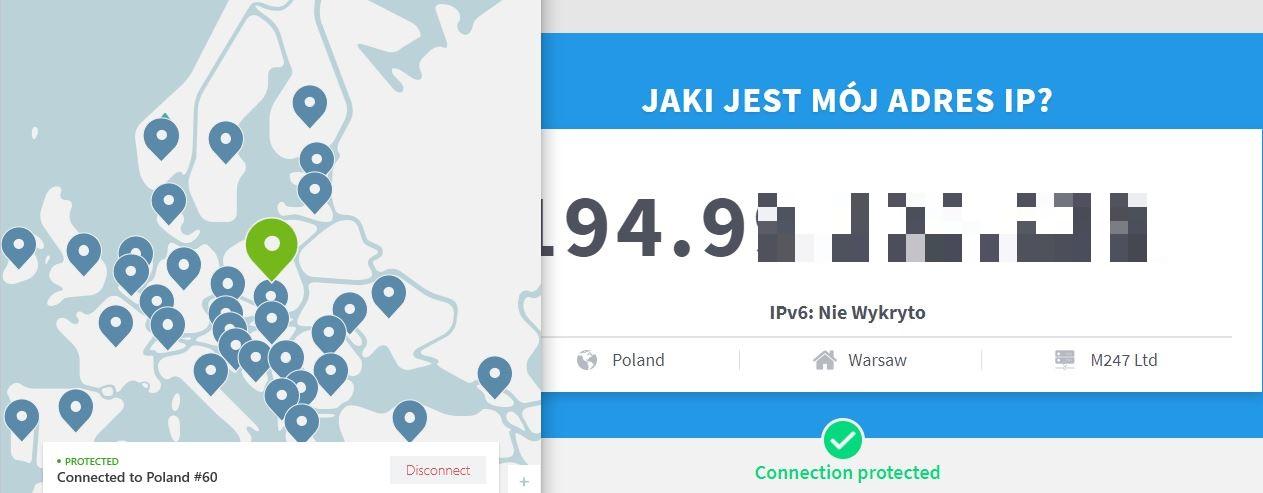 Jakie jest moje IP ? - test IP