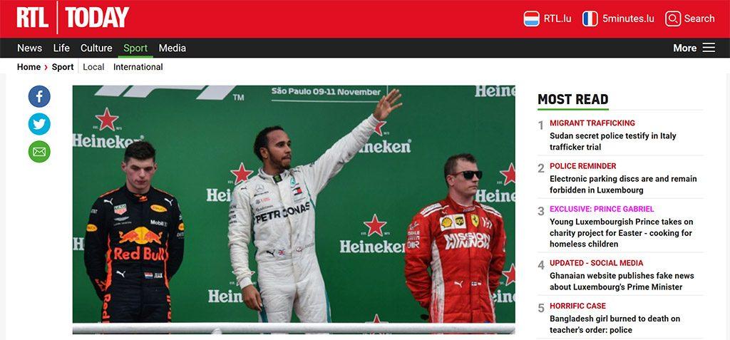 RTL Brazilian Grand Prix Live Online