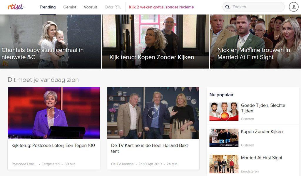 RTL XL Netherlands