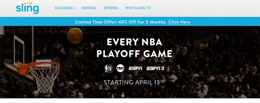 Sling TV NBA playoff