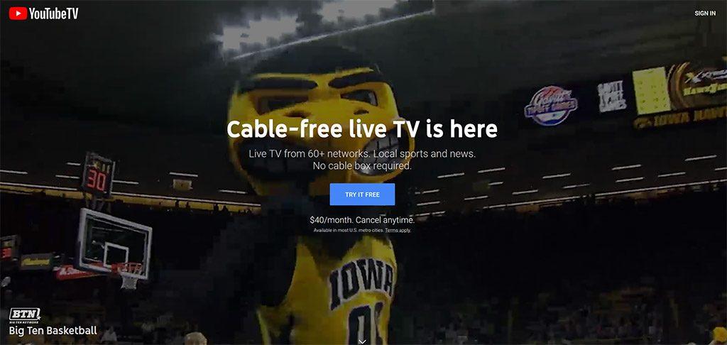 YouTube TV NBA finals