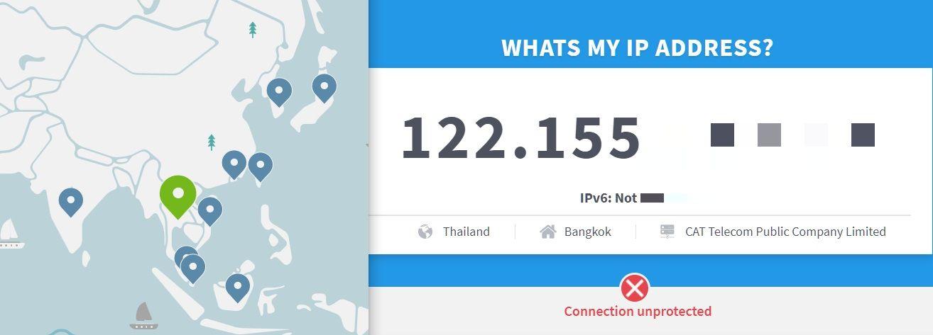 IP ของฉันคืออะไร - ทดสอบ IP