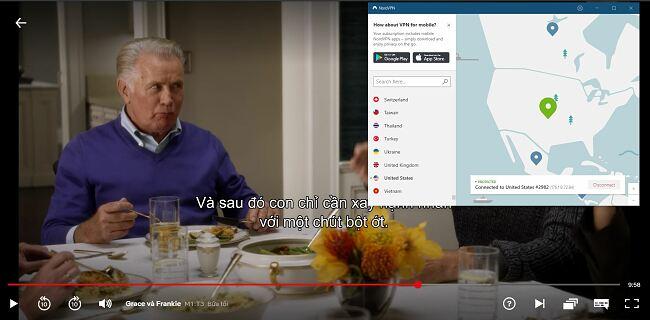 Trò chuyện dịch vụ khách hàng của NordVPN