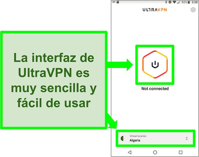 ultravpn-review-facilidad-de-configuración-e-instalación-interfaz-móvil-intuitiva