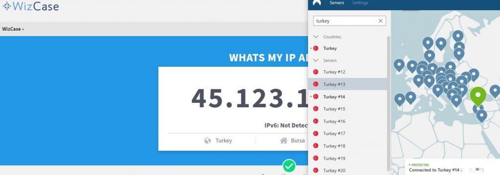 Get a Turkish IP Address with NordVPN