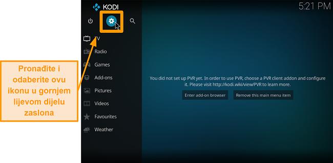 screenshot kako instalirati kodi addon treće strane korak 2 ikona okvira za klik