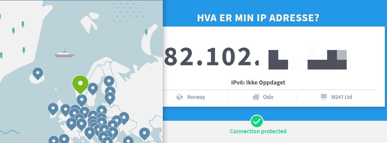 Hva er min IP ? - IP-test