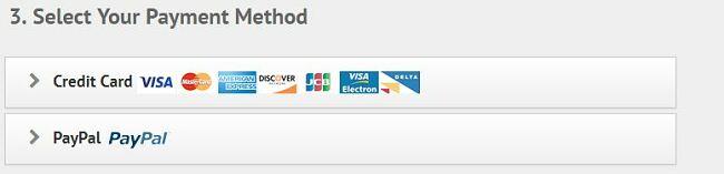 IPVanish payment options