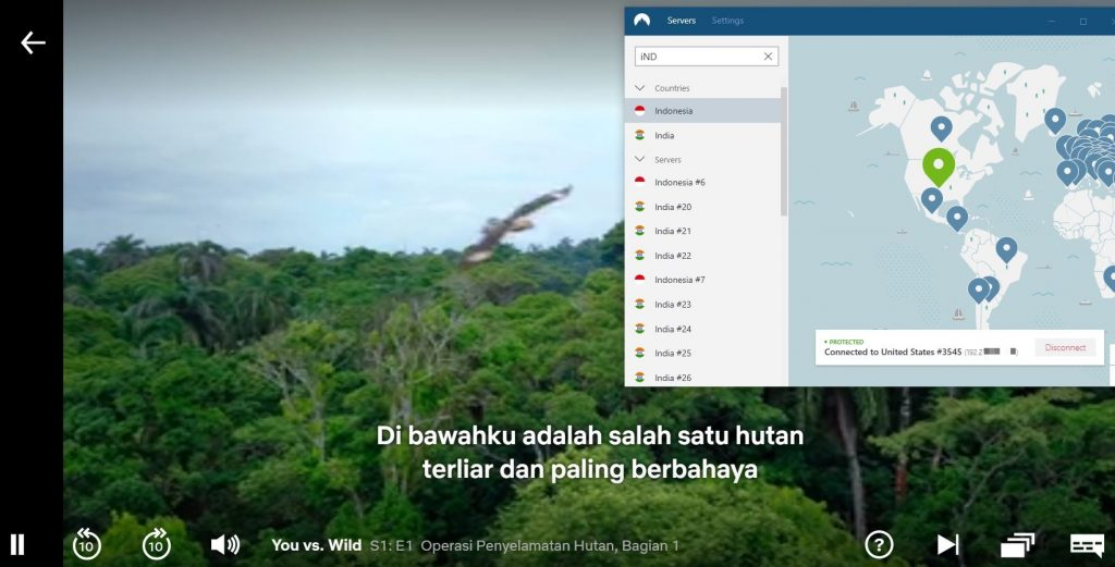 Netflix Indonesia - NordVPN
