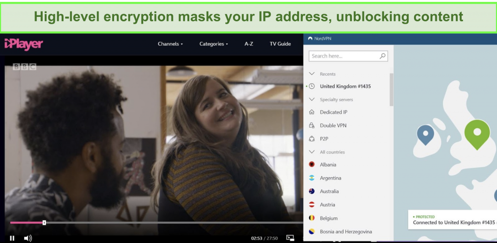 NordVPN encryption technology 1024x502 - How To Watch Iwantv Using Vpn