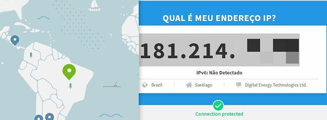 Qual é o meu IP ? - teste de IP